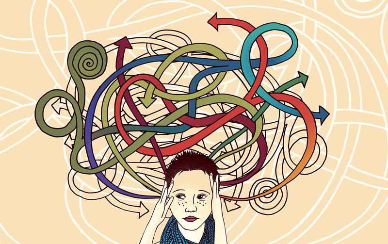 Trastorno por déficit de atención e hiperactividad.